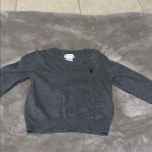 Ralph Lauren 24 month v neck sweater